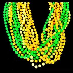 7mm 33in Glow in Dark Beads