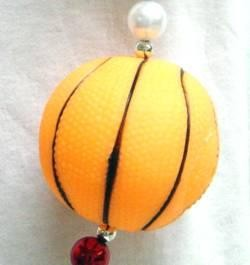 48in Squeaky Basketball w/ Red/ Blue/ Silver