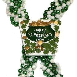 St Patricks Braided Beads