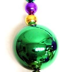 Mardi Gras Big Ball Necklace