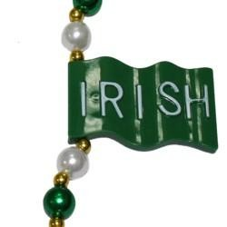 Irish Flag Necklace