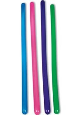 63in Inflatable Assorted Color Bongo / Bam Bams Sticks
