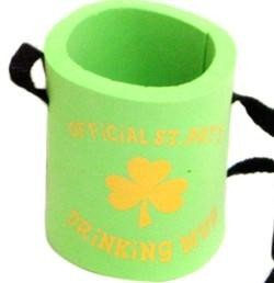 4in x 4in Foam St. Patricks Beverage Holder/ Can Hugger/ Cooler