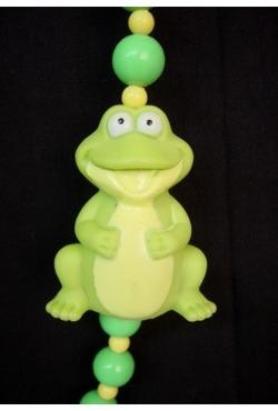 42in Rubber Frog Bead