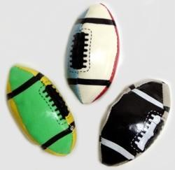 Assorted Color Football Kick Ball
