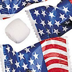 USA Flag Wrapped Butter Mints/Candy