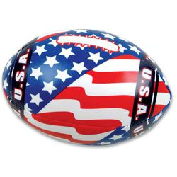 5.5in Soft Stuffed US Flag Football
