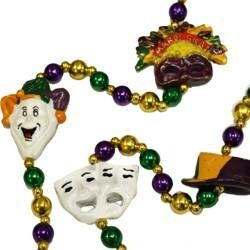 Mardi Gras Costumes Necklace