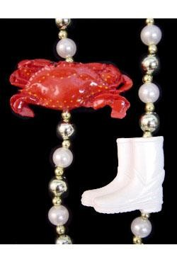 42in Crabs w/ Boots Bead