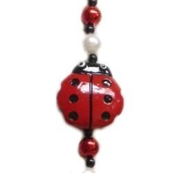 Lady Bug Bead