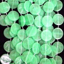42in Glow in the Dark Marijuana Beads