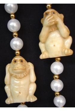 42in Monkey Necklace