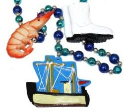 Shrimp Boat Necklace