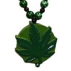 42in Marijuana Necklace
