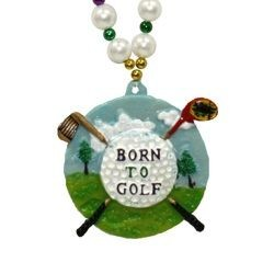 Born to Golf Necklace