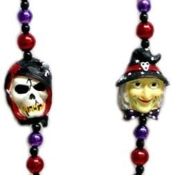42in Pumpkin/ Witch/ Skull/ Black Cat Halloween Necklace