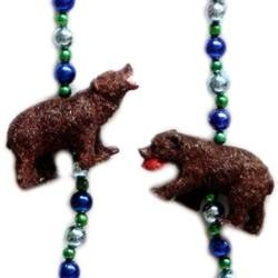 42in Grizzly Bear Necklace