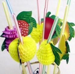 Tissue Fruit Straws