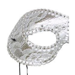 Eye Masks: Silver Lamei