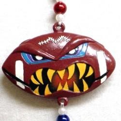 42in Mean Football Necklace