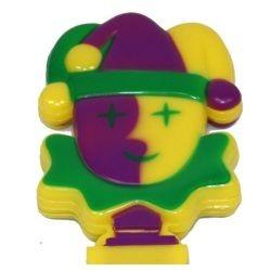 6.5in x 3in Jester Clapper