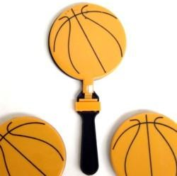 7.5 in x 3.5in Basketball Clapper