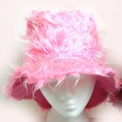 Assorted Color Furry Bucket Hat
