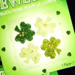 2in x 2in Assorted St Patricks Body Jewelry/ Tattoos