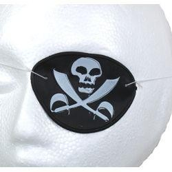 3in Plastic Pirate Eye Patch
