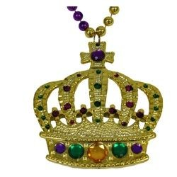Jeweled Crown Necklace