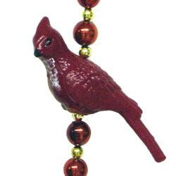 42in Cardinal Bird Necklace