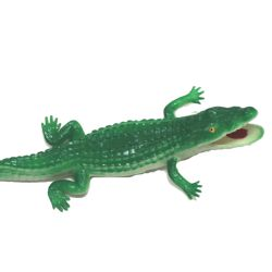 6in Rubber Alligators