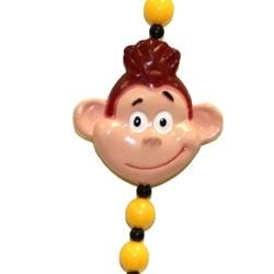Monkey Face Necklace