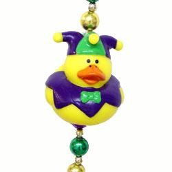 Jester Rubber Duck Necklace