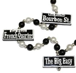 French Quarter Street Sign Necklace