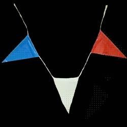 100ft x 11in Red White Blue Pennants Banners