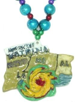 42in Hurricane Katrina Necklace