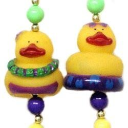 42in Luau Rubber Duck Necklace