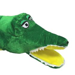 18in Long Plush Mardi Gras Alligator