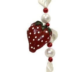 Strawberry Medallion Necklace
