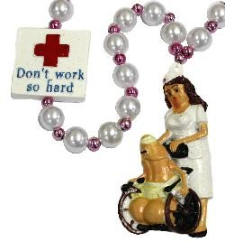 Dont Work So Hard w/ Nurse Your Penis Medallion