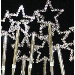 6in Tall x 1 1/2in Wide Plastic Mini Wands Value Pack
