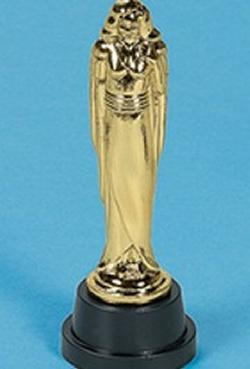 6in Plastic Female Award Statues