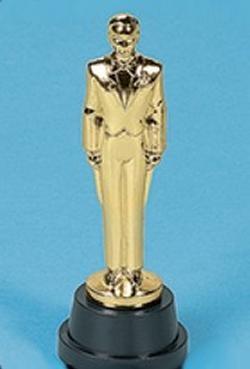 6in Plastic Male Award Statues