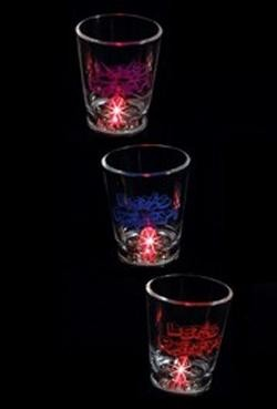 Plastic Flashing Shot Glass
