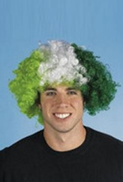 Synethetic St. Patricks Afro Wig/Hats