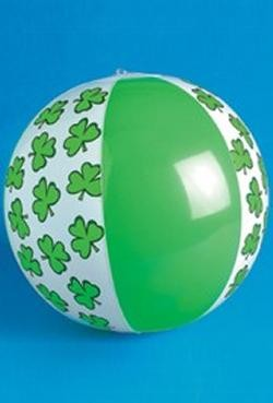 14in Vinyl Inflatable St. Patricks Day Beach Balls