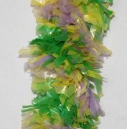 40in Mardi Gras Full Fringe Purple/ Green/ Gold Leis
