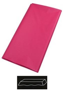 54in x 108in Hot Magenta Plastic Tablecovers