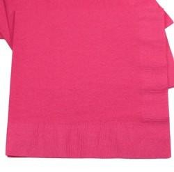 6.5in x 6.5in Hot Magenta Lunch Napkins